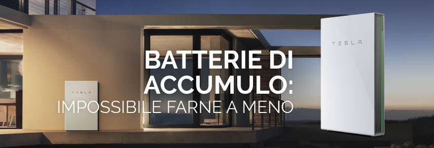 batterie di accumulo
